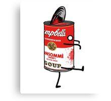 Zombie Tomato Soup Canvas Print