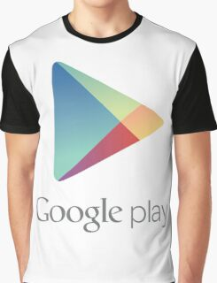 Google Play Store Graphic T-Shirt