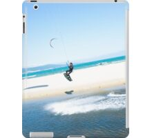 Kitesurfer boosts an air iPad Case/Skin