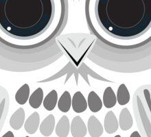 White Owl - Black Sticker
