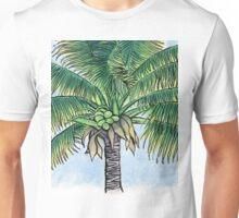 Caribbean palm tree Unisex T-Shirt
