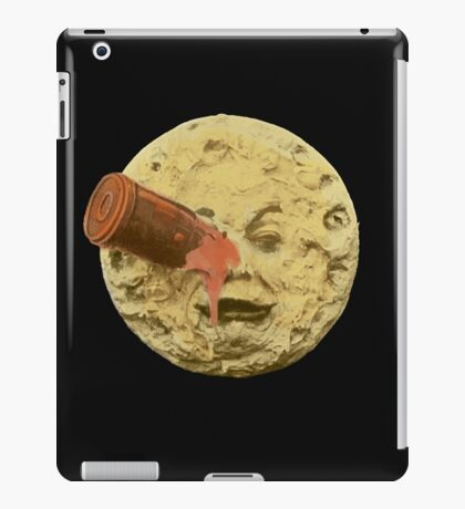 A trip to the moon (Color) iPad Case/Skin