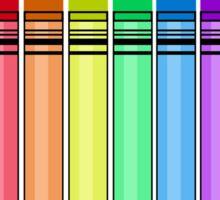 Rainbow Crayon Sticker