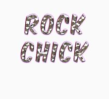 Rock Chick Chrome With Purple Glow Women's Fitted Scoop T-Shirt