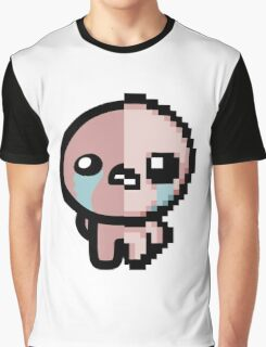 The Binding of Isaac, Two-Face Isaac Graphic T-Shirt