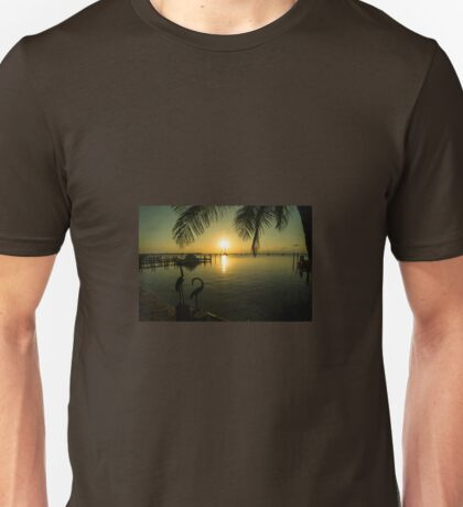 Pelican Sunset  Unisex T-Shirt