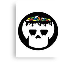 Rubix Skull Canvas Print