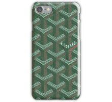 goyard logo iPhone Case/Skin