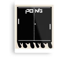 Instant Pong Metal Print