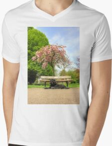 Spring Time Portrait Mens V-Neck T-Shirt