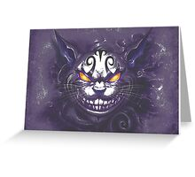 Cheshire Cat: Alice Madness Returns  Greeting Card