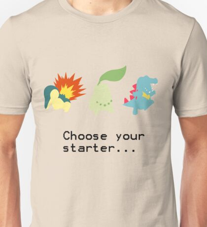 2nd Gen Starters Unisex T-Shirt