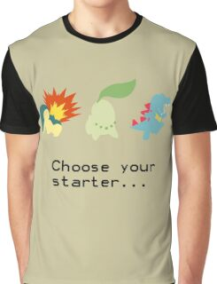 2nd Gen Starters Graphic T-Shirt