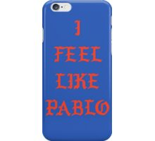 pablo logo iPhone Case/Skin