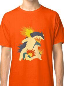 Cyndaquil Evolution Classic T-Shirt