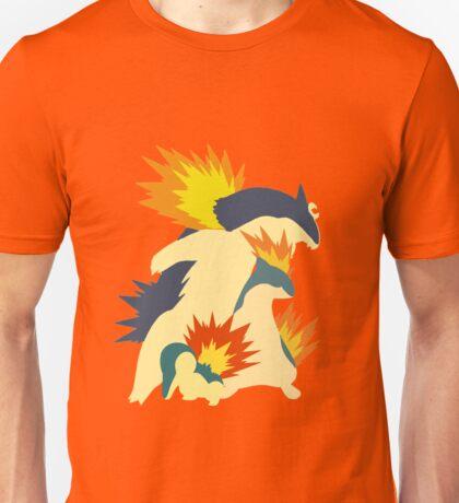 Cyndaquil Evolution Unisex T-Shirt
