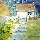 Yorkshire Cottage by Claudia Dingle