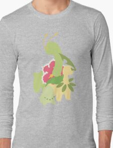 Chikorita Evolution Long Sleeve T-Shirt