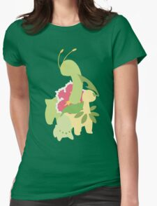Chikorita Evolution Womens Fitted T-Shirt