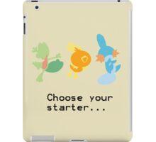3rd Gen Starters iPad Case/Skin