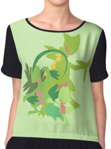 Treecko Evolution Chiffon Top