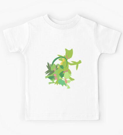 Treecko Evolution Kids Tee