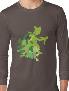 Treecko Evolution Long Sleeve T-Shirt