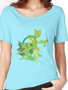 Treecko Evolution Women's Relaxed Fit T-Shirt