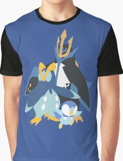 Piplup Evolution Graphic T-Shirt