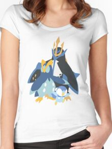 Piplup Evolution Women's Fitted Scoop T-Shirt