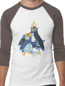 Piplup Evolution Men's Baseball ¾ T-Shirt