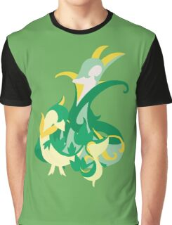 Snivy Evolution Graphic T-Shirt