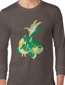 Snivy Evolution Long Sleeve T-Shirt