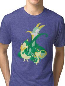 Snivy Evolution Tri-blend T-Shirt