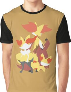 Fennekin Evolution Graphic T-Shirt