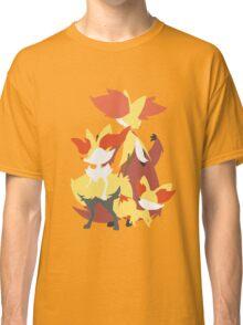 Fennekin Evolution Classic T-Shirt