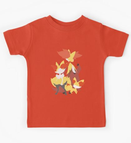 Fennekin Evolution Kids Tee