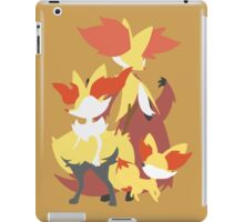 Fennekin Evolution iPad Case/Skin
