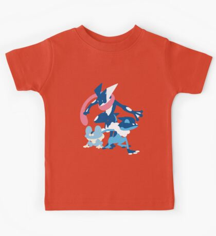 Froakie Evolution Kids Tee