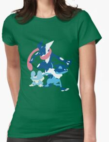 Froakie Evolution Womens Fitted T-Shirt
