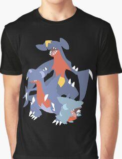 Gible Evolution Graphic T-Shirt