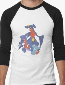 Gible Evolution Men's Baseball ¾ T-Shirt