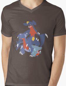 Gible Evolution Mens V-Neck T-Shirt