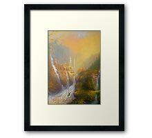 Rivendell Home Of Elves  Framed Print