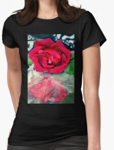 Over And Under Wraps Womens Fitted T-Shirt