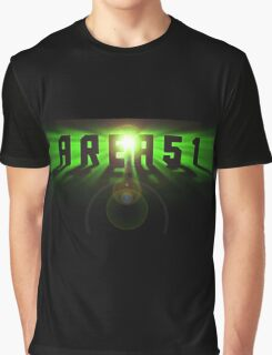 Area 51 Space Effect Graphic T-Shirt