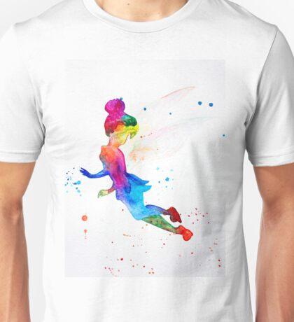 Tinkerbell, watercolor Unisex T-Shirt