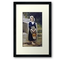 William-Adolphe Bouguereau - Innocence Framed Print