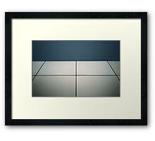 Geometric Architecture Framed Print