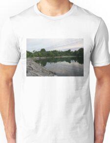 Summer Morning Tranquility - Lake Ontario in Toronto Unisex T-Shirt
